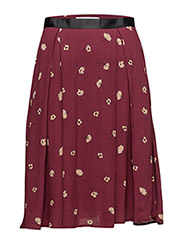 Amberly skirt AO17 - ZINFANDEL FLOWER PRINT