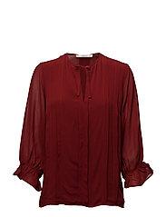 Ria blouse AO17 - ROSEWOOD