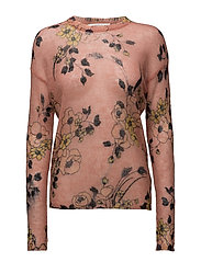 Dawn Pullover AO16 - LIGHT PINK PRINT