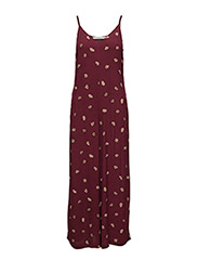 Amberly jumpsuit AO17 - ZINFANDEL FLOWER PRINT