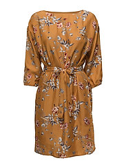 Moxie oz dress MA17 - INCA GOLD FLOWER