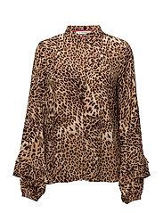 Christine shirt MA17 - LEOPARD