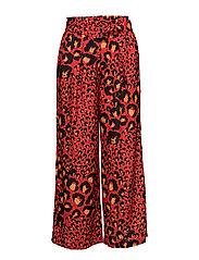 Gabriella culottes MA17 - RED LEOPARD