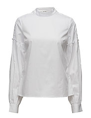 Basby blouse MA17 - BRIGHT WHITE