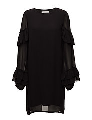 Pears ls dress MA17 - BLACK