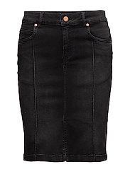 Tyra skirt MA17 - CHARCOAL GREY