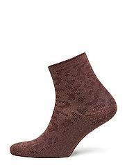 Leo socks MA17 - MERLOT