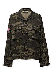 Milla jacket ZE1 17 - CAMUFLAGE PRINT