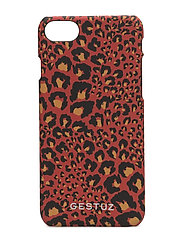 Mobile cover MA17 - RED LEOPARD