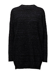 Billie long pullover YE17 - BLACK