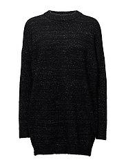 Billie long pullover YE17 - BLACK