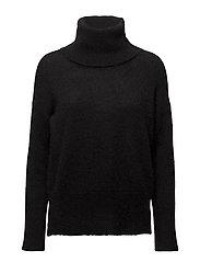 Peoni black rollneck MA17 - BLACK