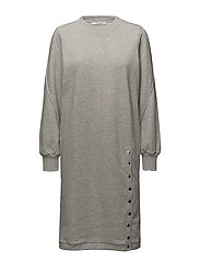Galica dress SO18 - L.GREY MELANGE