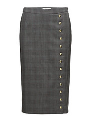 Cheril skirt SO18 - GREY CHECK