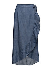 Cyndie skirt SO18 - DENIM BLUE