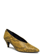 Portia pumps ZE2 17 - YELLOW SNAKE