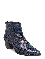 Ava boot MS18 - DARK BLUE SNAKE
