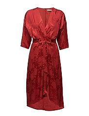 Settia dress MS18 - POINSETTIA