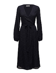 Cete wrap dress MS18 - DEEP WELL