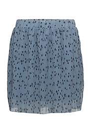 Jeanett skirt MS18 - BLUE FLOWER