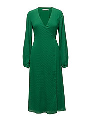 Nete wrap dress ZE3 17 - JOLLY GREEN