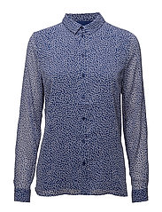 Clover shirt HS18 - CLEMATIS BLUE