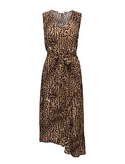 Christi long dress HS18 - LEOPARD