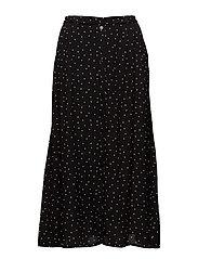 Harper skirt AO18 - BLACK DOT
