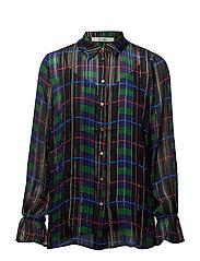 Tilde shirt AO18 - CHECK PRINT