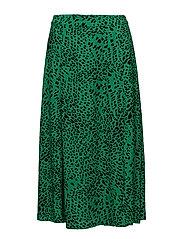 Loui skirt AO18 - GREEN LEOPARD
