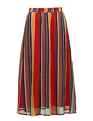 Una skirt AO18 - MULTI STRIPES