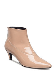Sheba patent boots ZE1 18 - NUDE