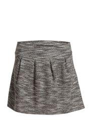 Leroy skirt AO 14 - Black melange