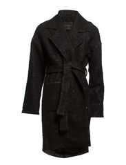 Nella coat MA 14 - Black/white