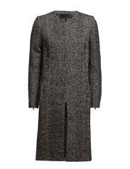 Tita coat MA 14 - BLACK/WHITE