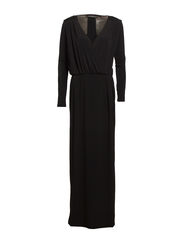 Zenta maxi dress - Black
