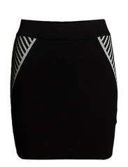 Millie skirt - Black/white