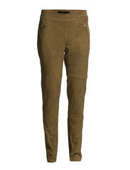 Barbara pants SO15 - Tobacco brown