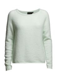 Saiva O-neck pullover - Hint of mint