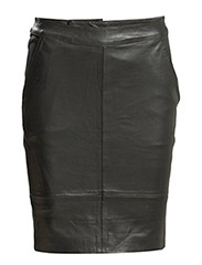 Char mini skirt AO15 - Black