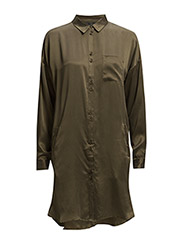Latifa oversize shirt AO15 - WREN