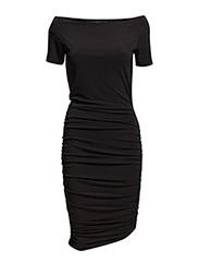 Ellie dress AO15 - BLACK