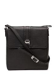 Elegance shoulderbag with flap - BLACK