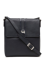 Elegance shoulderbag with flap - NAVY