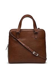 Elegance Handbag - BRANDY