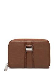 Elegance ziparound wallet - BRANDY