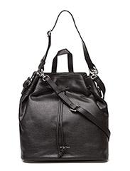 Romance shoulderbag / reticule - BLACK