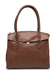 "Romance ""tablet"" hand / shoulderbag - BRANDY"