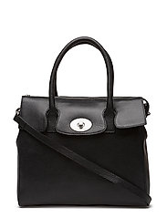 "Romance ""tablet"" Handbag - BLACK"