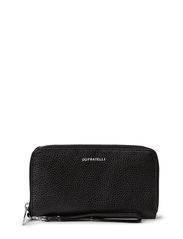 Romance ziparound wallet - Black